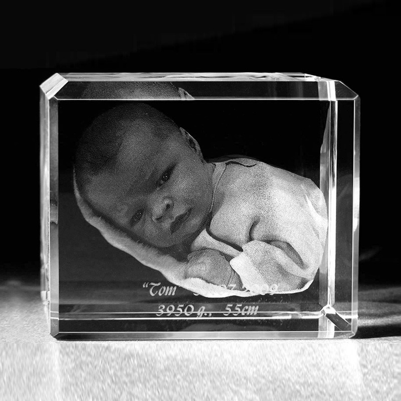 3d crystal glasfoto 3d laser portrait vom foto glas 985. Black Bedroom Furniture Sets. Home Design Ideas