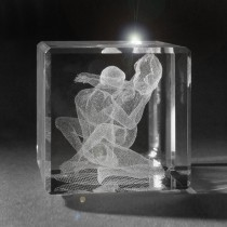 3D Laserglas Erotik in Kristall