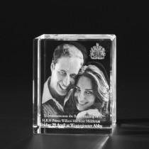 3D Laser Foto Portrait in Glas, 3D Kristall 674