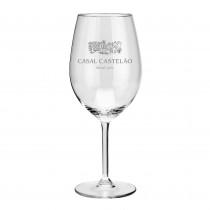 Rotweinglas mit Logo graviert. Ihr Logo durch Lasergravur auf Glas. Trinkgläser mit Werbung