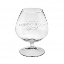 Cognacschwenker, Cognacglas Logo Gravur. Lasergravur auf Gläser.