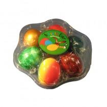 Eierverpackung für gravierte Logo Eier. Plastikschale für Ostereier