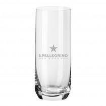 Longdrinkglas mit Logo graviert. Lasergravur auf Gläser