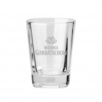 "Schnapsglas ""Gorba"" inkl. Gravur ab 50 Stück"
