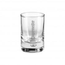 Schnapsglas, Schnaps Stamperl mit Logo graviert. Ihr Logo durch Lasergravur auf Glas. Trinkgläser mit Werbung