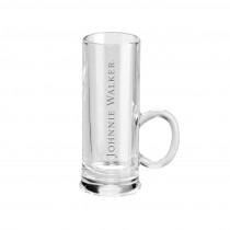 Gläser mit Lasergravur. Trinkgläser: Schnapsglas mit Logo gaviert
