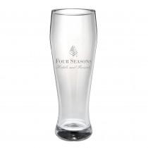 Weissbierglas mit Logo Gravur. Glas, Trinkgläser inkl. Lasergravur