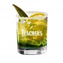 Whisky Glas, Tumbler mit Logo graviert. Lasergravur auf Trinkgläser