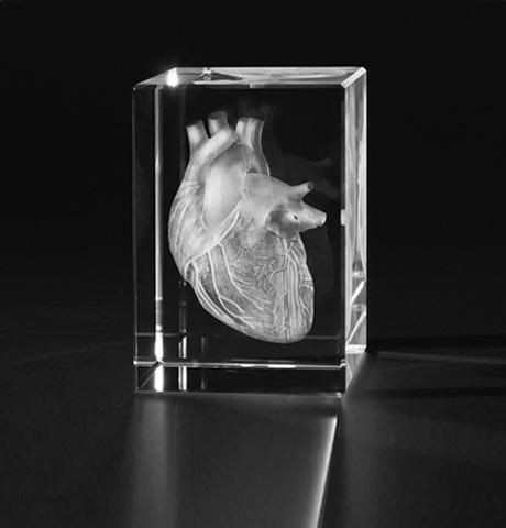 3D Foto in Kristall