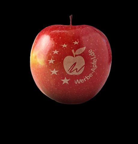 Ihr Logo auf Obst wie z.B. Äpfel